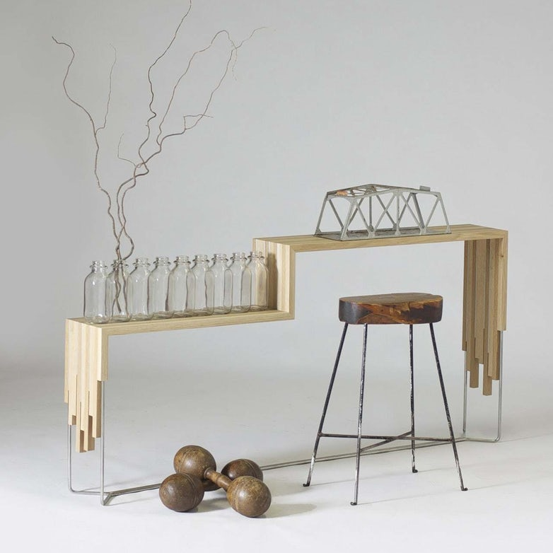 Sam Ladwig Y Line Sofa Table