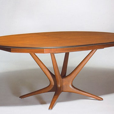Oval Extension Table01 k