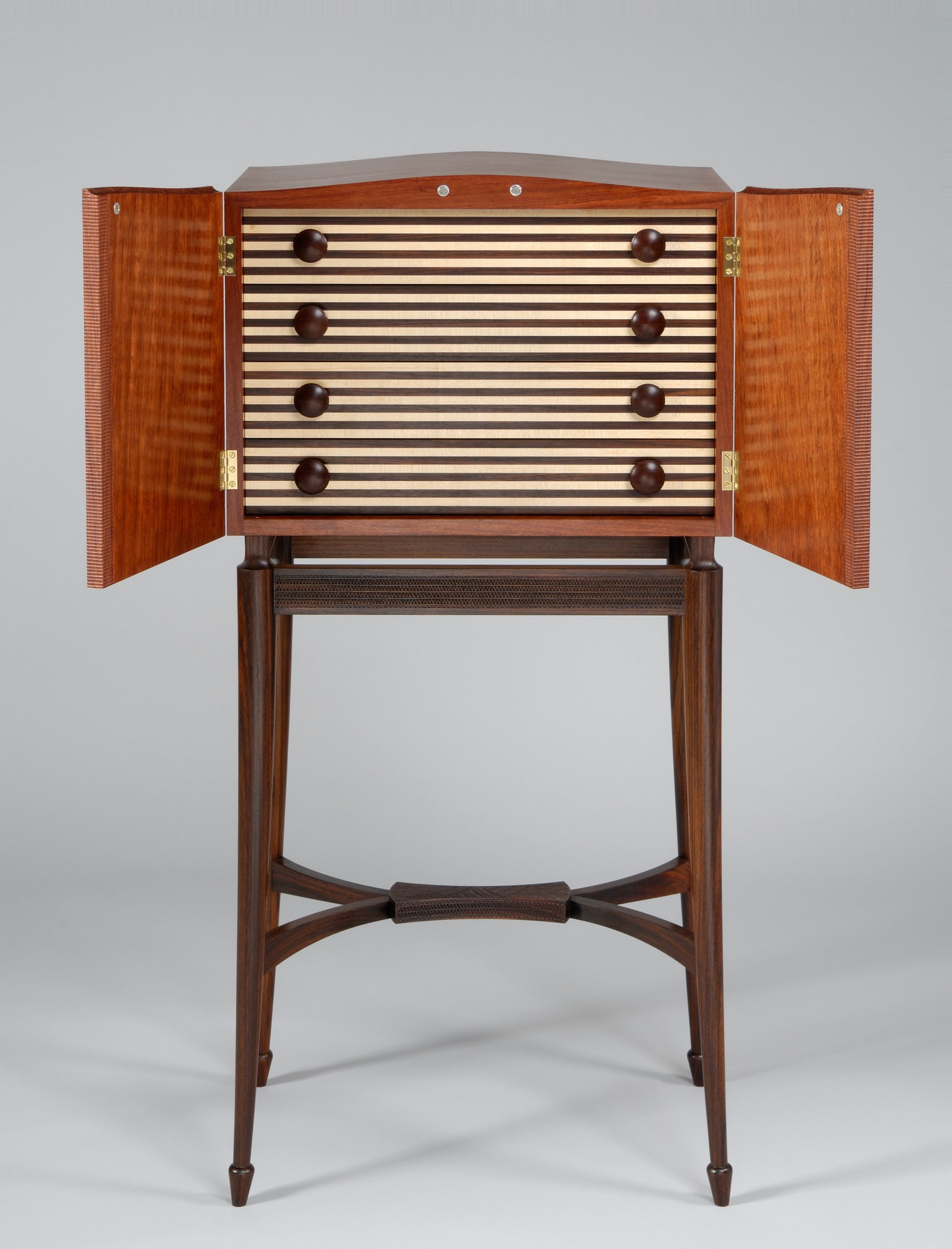 Cabinet on Stand (open)
