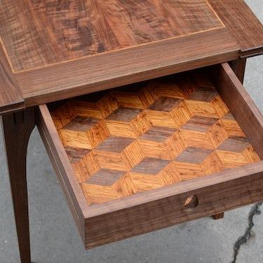 Walnut Side Tables