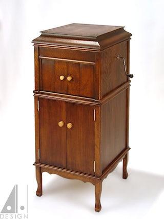 Re-created Grafonola Cabinet