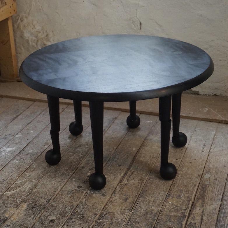 Ebonized low table