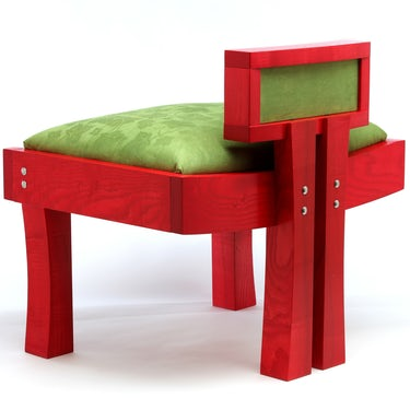 I Love Color Chair view 2