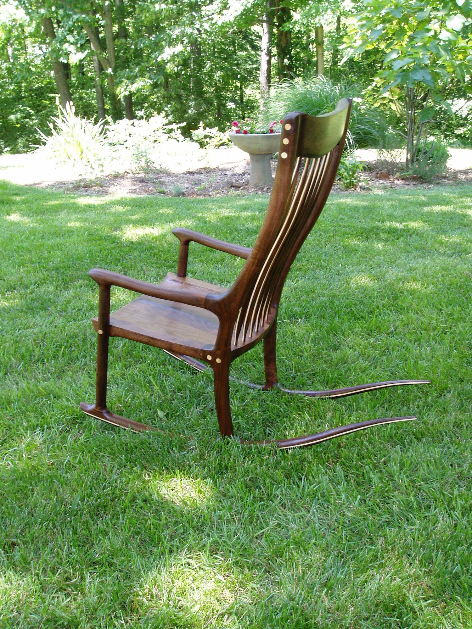 Walnut Rocker