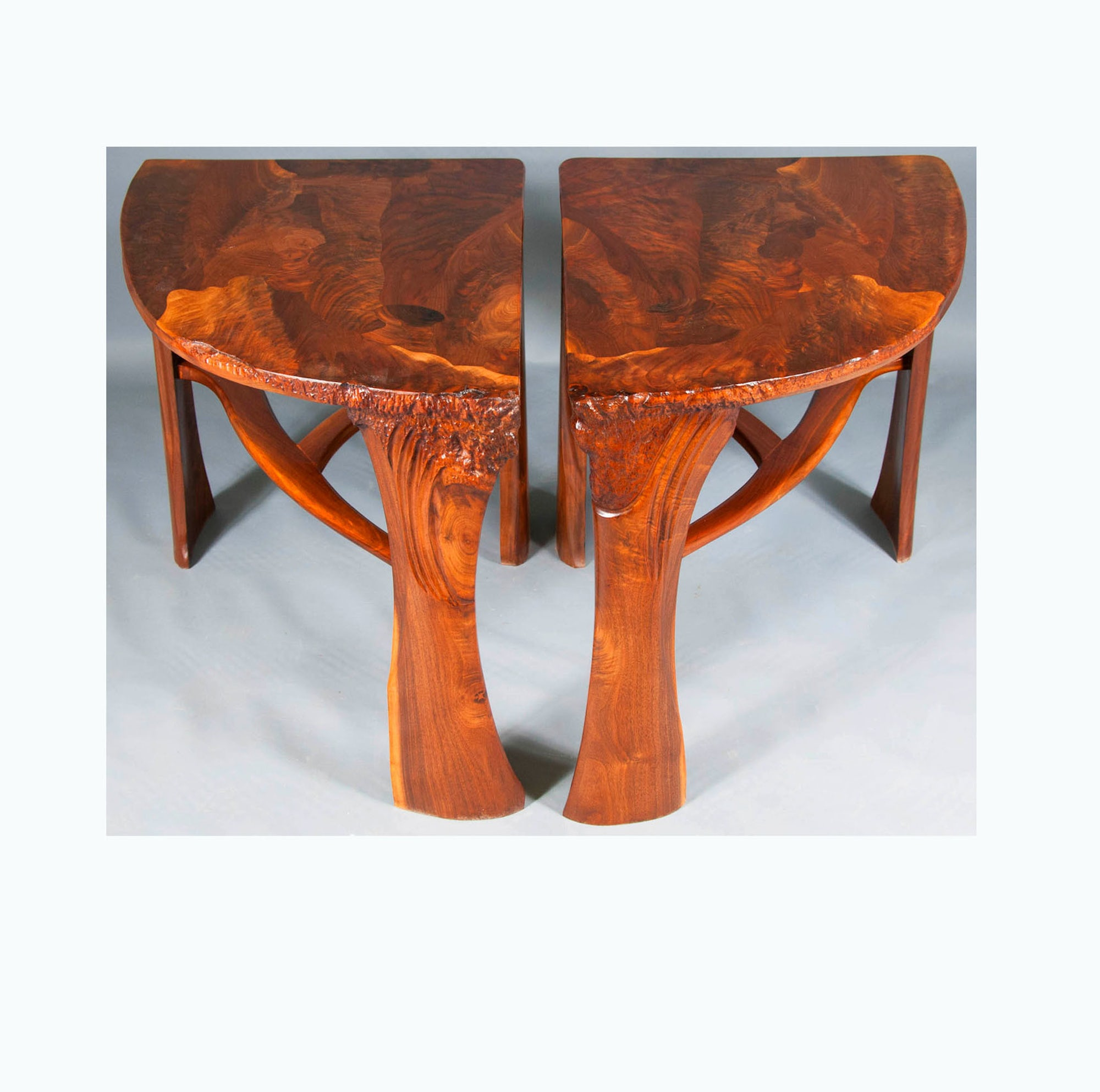 Abstract Organic Expressionism in Furniture™ End Tables (2014)