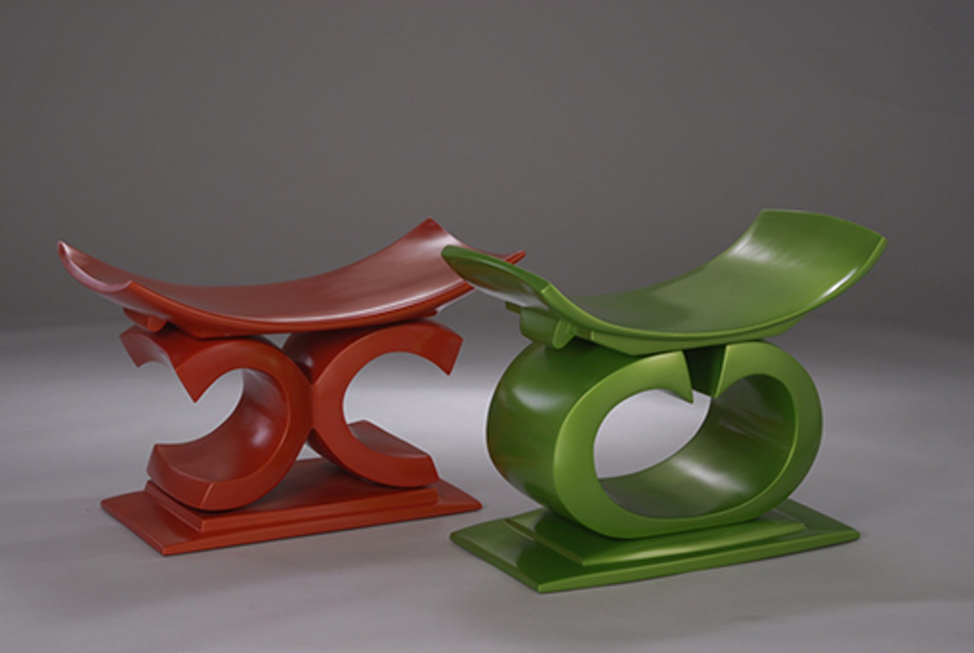 Fiberglass-stools