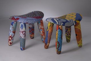 Upholstered-stools