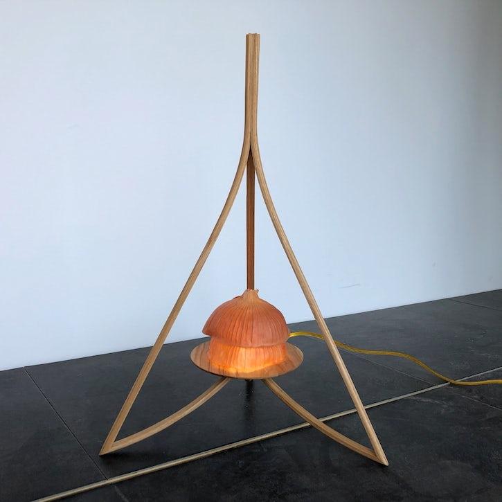 Onion Ascending - Tripod Lamp