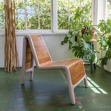 Slat Form Lounge Chair