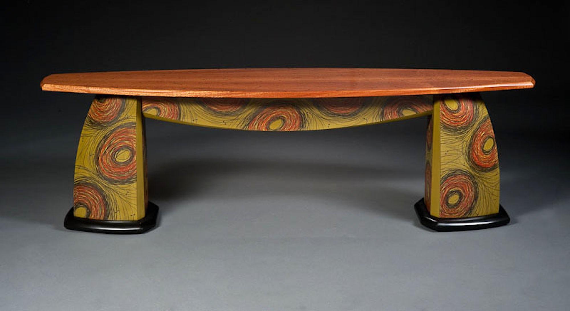 Long-green-table
