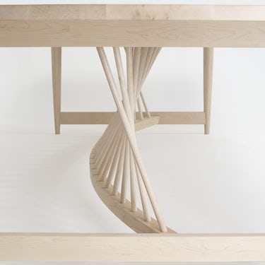 Helix Harvest Table Detail