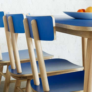 Abner Dining Chairs, Table