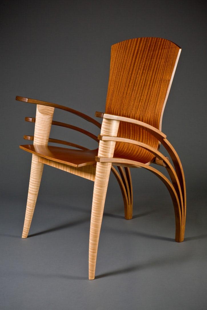Trimerous Chair