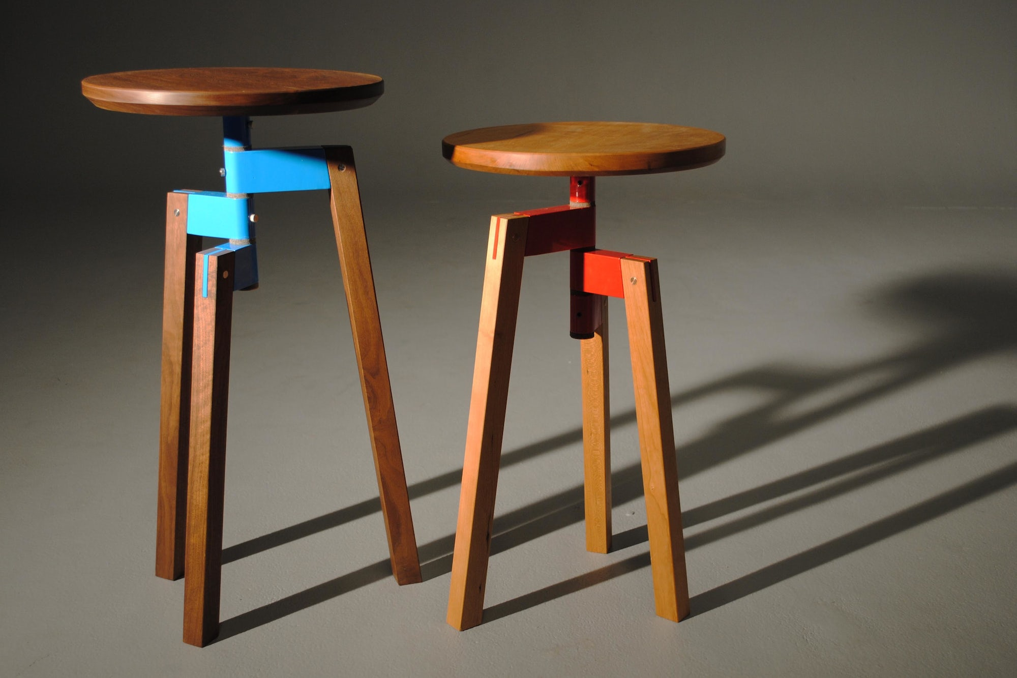 Collapsible stools