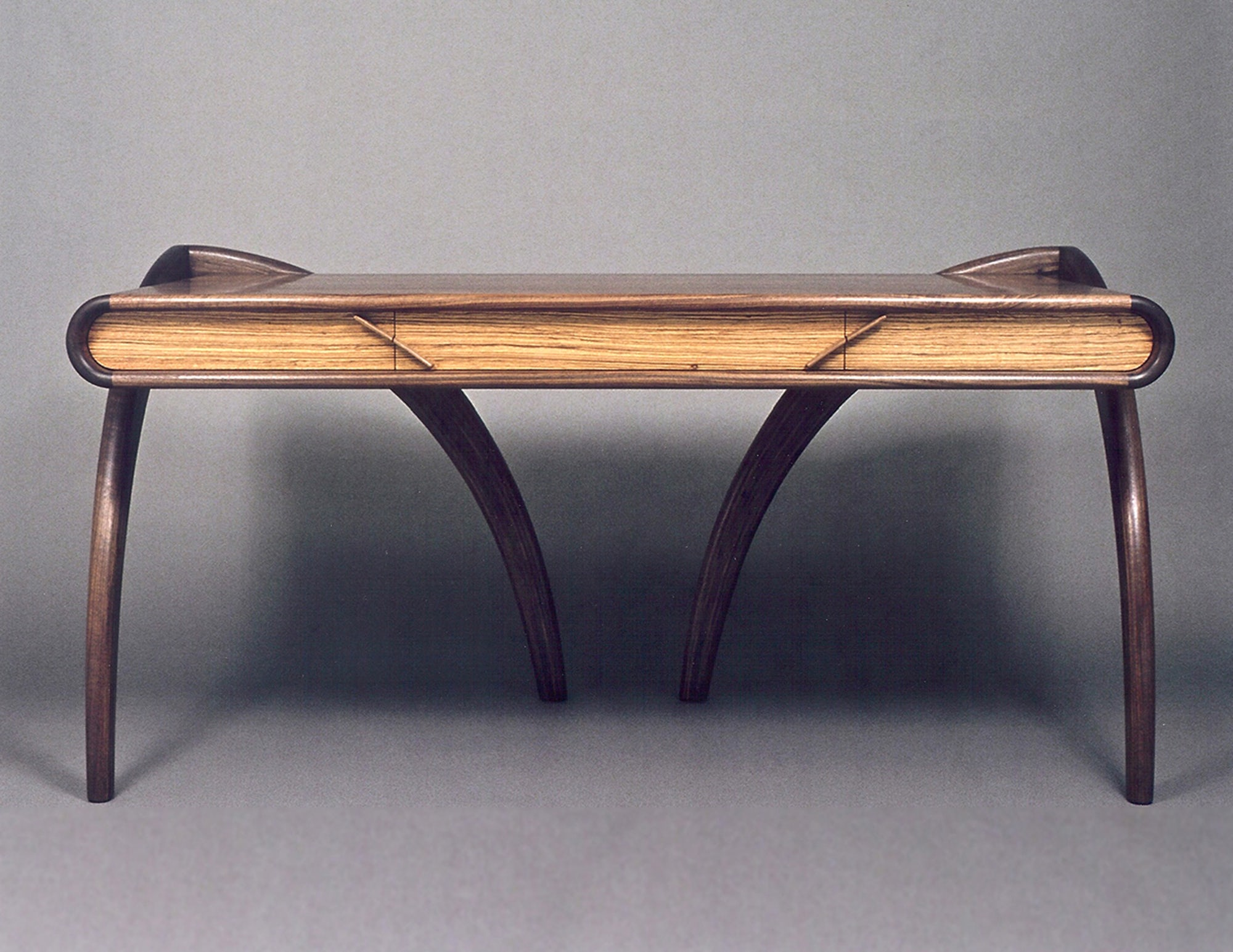 Angled Arch Writing Desk by Todd Ouwehand