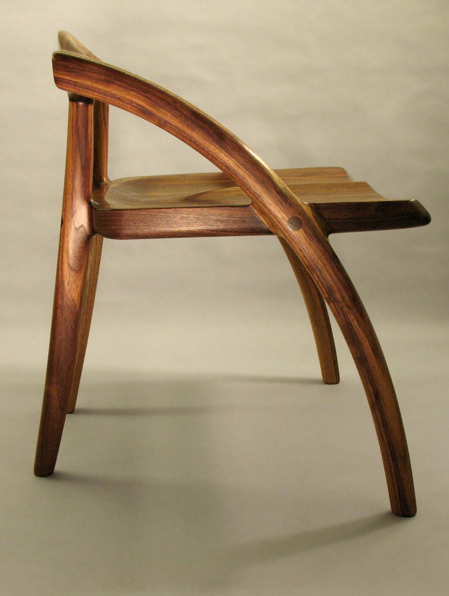 Low Back Chair Side View by Todd Ouwehand