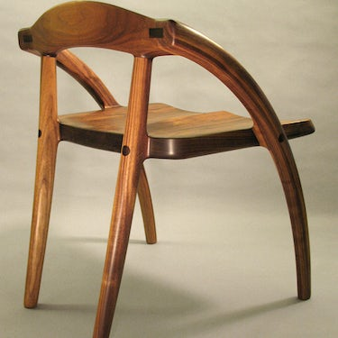 Low Back Chair by Todd Ouwehand
