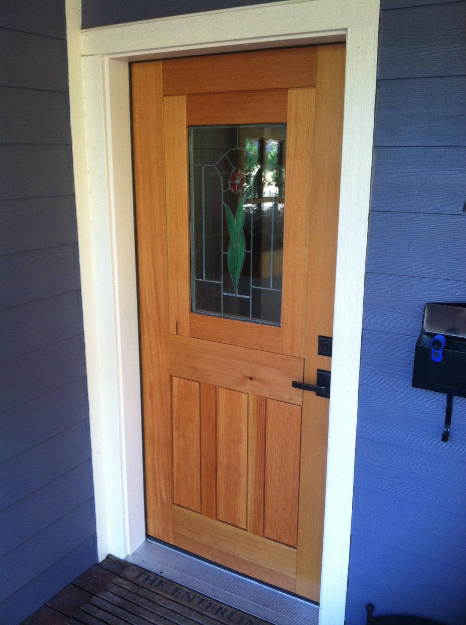 Douglas Fir Door