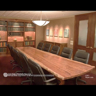 Conference Table and Wall Unit